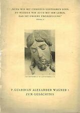 Neyer/Ignatius-jeiler casa, Guardian alexander wagner Z memoria, vacantes 1938