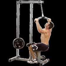 Latzug PL von Body Solid, Lattrainer, Kraftstation + 40 kg Guss Hantelscheiben