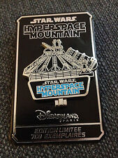 Hyperspace Mountain Opening Disneyland Paris pin limited LE700