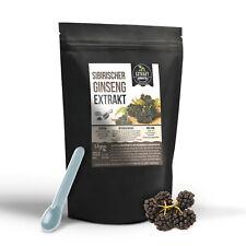 Sibirischer Ginseng EXTRAKT | 100g PULVER | laborgeprüft | vegan zusatzfrei