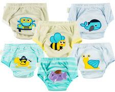 6 Pieces Set Potty Toilet Training Pants Trainers for babies kids Unisex New 01
