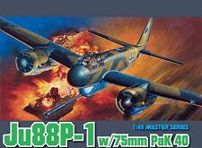 DRAGON REF.5543 JUNKERS JU88P-1 W:75 MM PAK 40 ECH.1/48