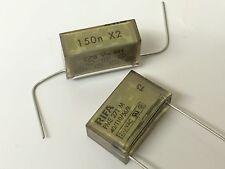 RIFA EVOX PME271M 150nF 0.15uF 275Vac CLASS X2 MOTOR FILTER CAPACITOR x1  fba23b