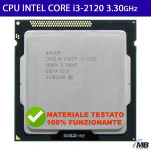 Processore Intel® Core™ i3-2120 3 MB di cache, 3,30 GHz CPU LGA1155 SANDY BRIDGE