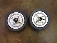 """6"""" Caster Wheels all Jazzy Power Wheelchairs select elite Quantum 600 614"""