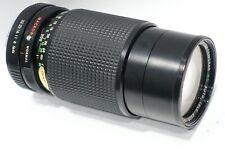 Pentax K mount fit Super Travenar 80-200mm 1:4.5 lens fits PK camera mount