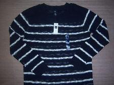 Gap Brand Dark Blue and White Striped Womens Sweater Size M NEW