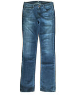 7 Seven For All Mankind Ankle Straight Blue Jeans Size 26