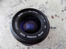 Vivitar 35mm Camera Macro 52mm Lens