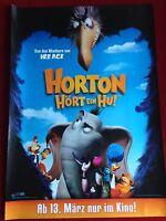 Horton hört ein Hu Kinoplakat Poster Filmplakat A1