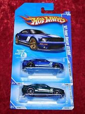 2010 Hot Wheels Faster Than Ever '07 Ford Shelby GT500 Blue & Green 2 PK