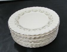CORINTHIAN PATTERN BY FRANCISCAN CHINA 8 LOT BREAD PLATES EXCELLENT NEAR MINT