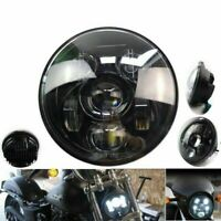 Motorcycle Driving Spot Lights LED Front Headlight Round Headlight 5.75 Inch UK