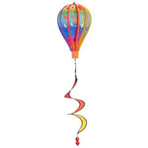 CIM Windspiel Micro Heißluftballon Butterfly Ballon:Ø17cmx28cm Deko Geschenkidee