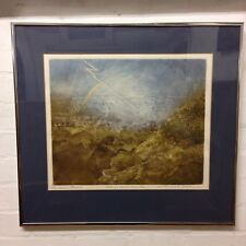 """Michael Oelman Signed Etching The """"Great Flood I"""" """"Strange Conjunction"""" 59/100"""