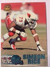 1997 Pacific Platinum Blue #12 Simeon Rice Card!!!