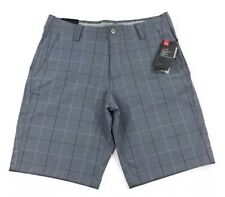 Men's Under Armour UA Match Play Patterned Golf Shorts 1317954 001 NWT Sze 34
