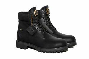 """TIMBERLAND X OVO Men's 6"""" Premium Vibram Boot, Black"""