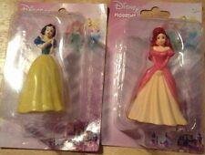 DISNEY PRINCESSES FIGURINES Snow White & Ariel cake topper party decoration