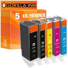 5 Cartouches D'imprimante xxl pour Canon pgi-570xl cli-571xl pixma mg6852 mg6853 mg7750