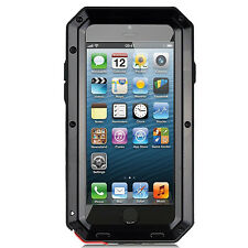 Original Waterproof Shockproof Metal Case Cover+Gorilla Glass for iPhone Samsung