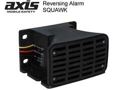 AXIS VEHICLE SAFETY BACKUP REVERSING ALARM SQUAWK BA107 107DB SUIT TRUCK BUS 4WD