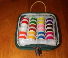 FLY legare caso di 12 grandi bobine le lane diversi colori
