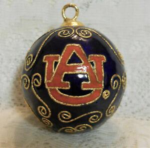 FTH 57471 Officially Licensed Auburn University Tigers Bulb Christmas Ornament