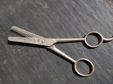 """VTG  7"""" Thinning CHARLESCRAFT  Shears, Hair Cutting Scissors Made In Italy"""
