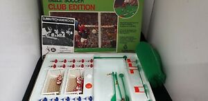 Vintage Subbuteo Table Soccer Club Edition Boxed