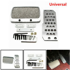 Car Foot Pedal Antiskid Plate Pad Brake Transmission Non-Slip Automatic Set Kits