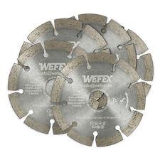 Beton Trennscheiben 125 mm Naturstein Universal Diamanttrennscheiben 5er Set