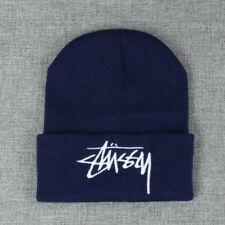 Unisex Winter Warm Thermal Beanie Hat Hiking Knitted Stretch Hat Ski Skater Cap