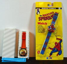 2 Child's SPIDER-MAN WATCHES MIP Hope 1990 & CMI Corp 1995