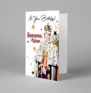 Hamilton Musical, King George III Birthday Card Alexander Hamilton Print awesome