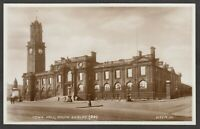 Postcard South Shields nr Newcastle Upon Tyne clock tower at Town Hall early RP