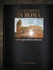 ENCICLOPEDIA DI ROMA - FRANCO MARIA RICCI (FMR) 1^ EDIZIONE 1999 PERFETTO