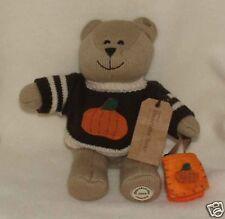 Thanksgiving Starbucks Bearista Autumn Teddy Bear Plush for Fall #85 (2009) NEW!