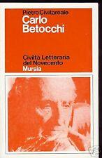 Pietro Civitareale = CARLO BETOCCHI =