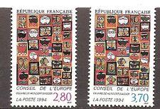 Frankrijk - 1993 - Mi. Dienst 51-52 (Meeloper) - Postfris - CF248