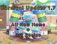 1.7 Update ALL New Items DIYs Carnival Holiday Festival Seasonal Feather Pave