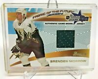 2001-02 BOWMAN YOUNG STARS BRENDEN MORROW GAME USED JERSEY CARD DALLAS STARS 💥