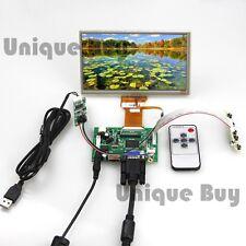 "7"" inch TFT Monitor+Touch Screen+Control Driver Board for Raspberry Pi HDMI VGA"