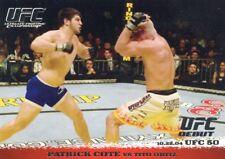 2009 TOPPS UFC ROUND 1 ROOKIE RC DEBUT PATRICK COTE VS TITO ORTIZ #18