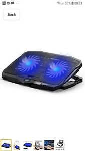 ADJUSTABLE PORTABLE LAPTOP STAND COOLING PAD HOLDER PC NOTEBOOK DESK TABLE TRAY