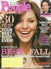 Like New Teen People Magazine 2006 August Katharine McPhee Orlando Bloom