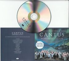 CANTUS Northern Lights 2017 UK 12-track promo test CD