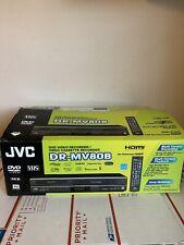 NEW JVC DR-MV80B DVD Recorder VCR Player Combo w HDMI DVD-RW/+RW/+R/-RAM