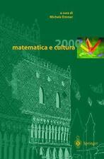 Matematica e Cultura 2000 (2000, Hardcover)