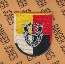3rd Special Forces Group Airborne SFGA DUI crest beret flash patch c/e